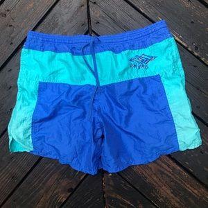 Vintage Umbro Silk Feel Shorts Sz Med GUC